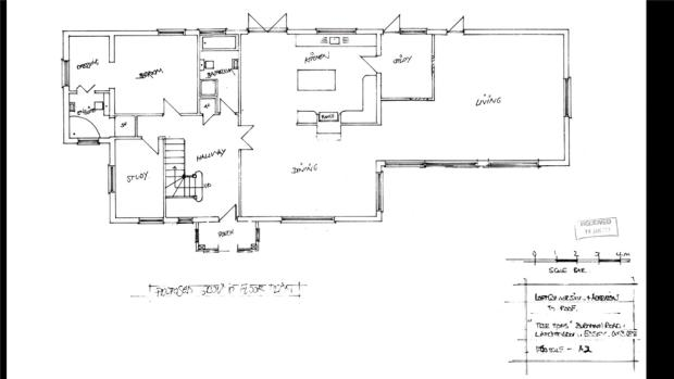 Treetops Planning Permission GF Layout Drawings