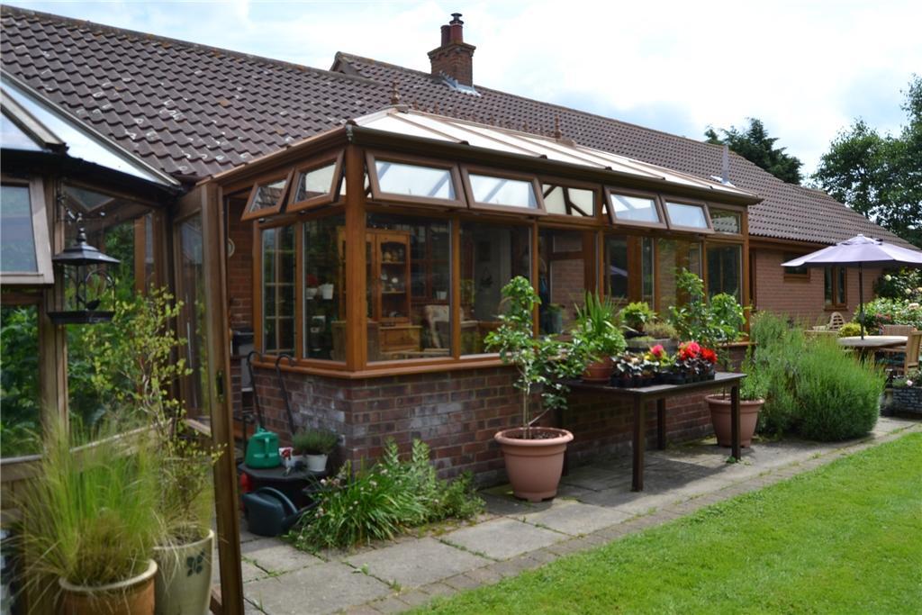 Treetops external conservatory