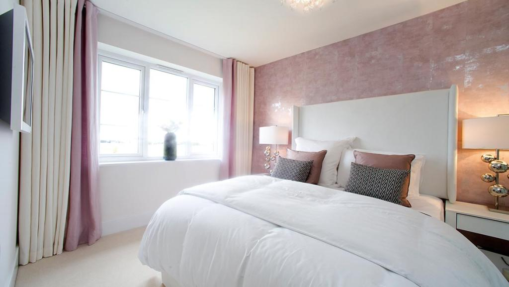 Typical bedroom Morton Avant Homes