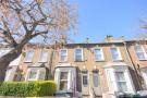 Terraced house in Cranbourne Road, London...