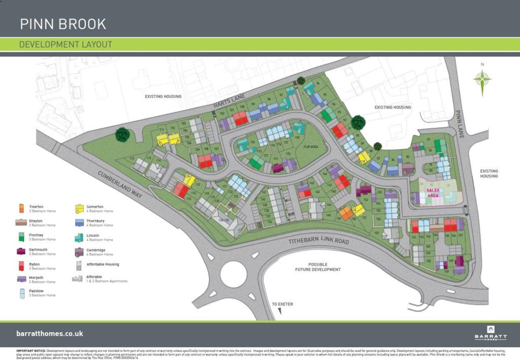 Pinn Brook New Homes Development By Barratt Homes
