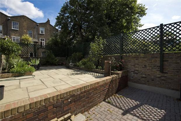 Sectioned Patio