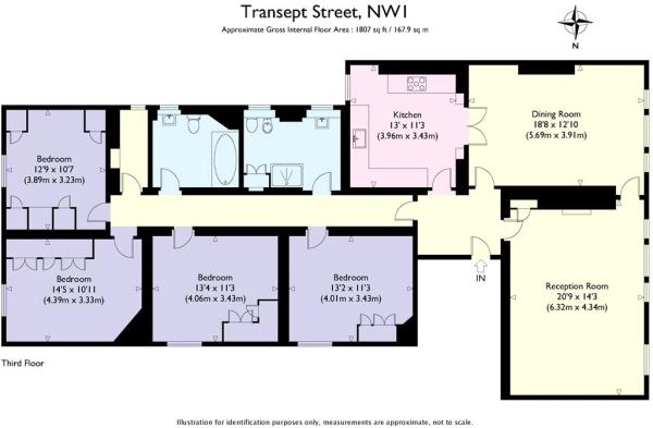 Marylebone Floorplan