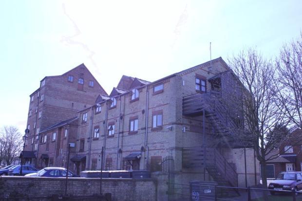 Top floor flat