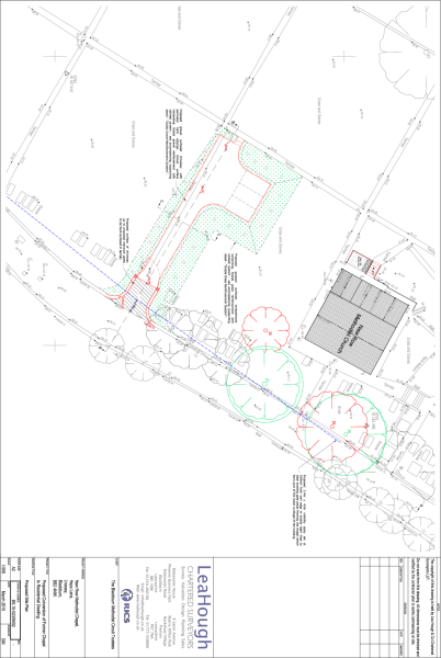 Proposed site access