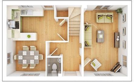 Kirkstone Ground Floor Plan