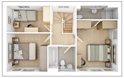 Kirkstone First Floor Plan
