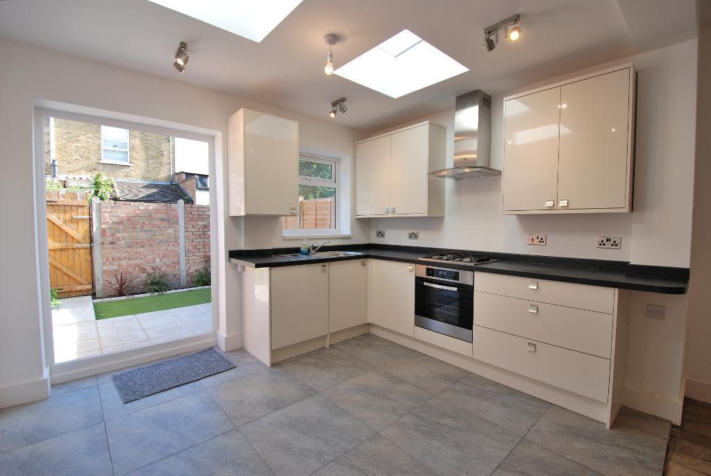 Stylish Integrated Kitchen Area