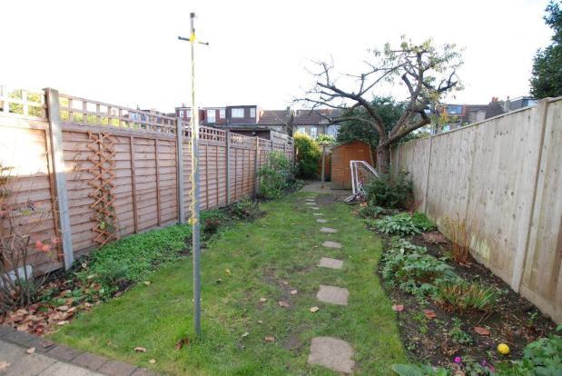 Generous Southerly Facing Garden