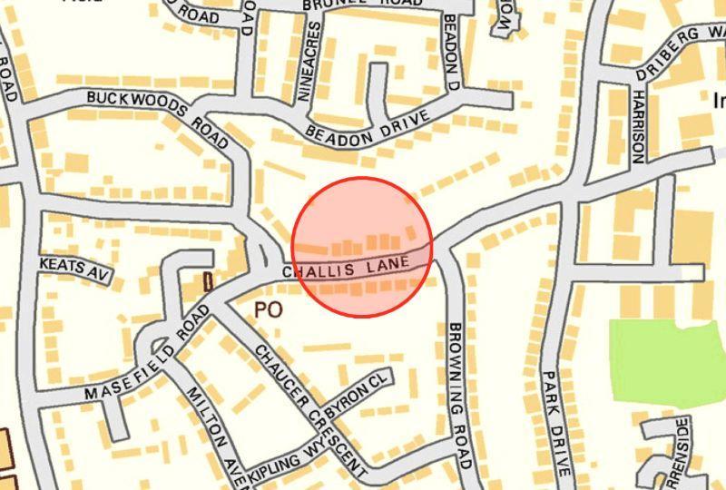 braintree essex street map