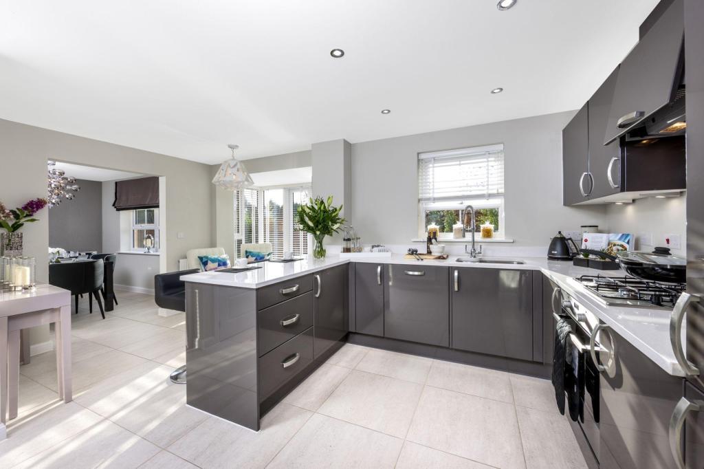 Contemporary kitchen area