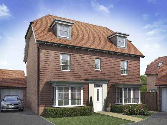 The Warwick house type at The Orchards, Allington