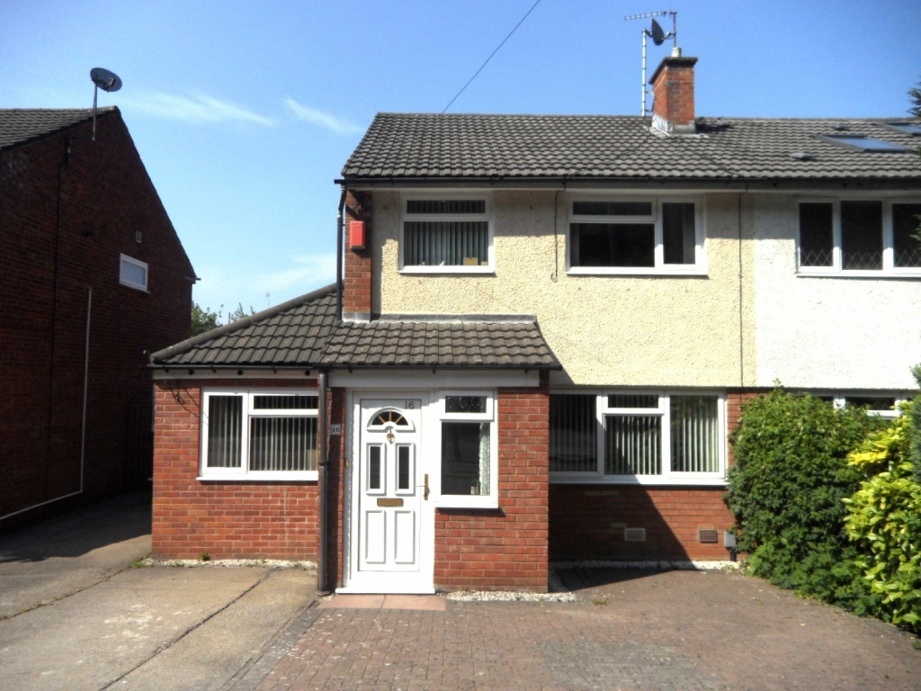 3 bedroom semi detached house for sale in 16 cowslip drive for 3 bedroom house extension ideas