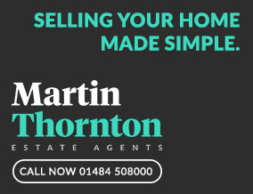 Get brand editions for Martin Thornton Estate Agents, Huddersfield