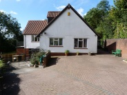 Detached property for sale in Coedkernew, Newport