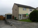 semi detached home in St Lukes Close, Brynna...