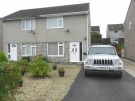 2 bed semi detached house in Cynan Close, Beddau...