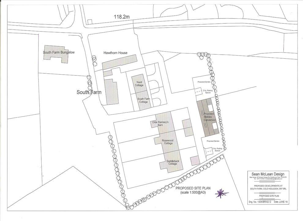 SEE ATTACHED PLAN