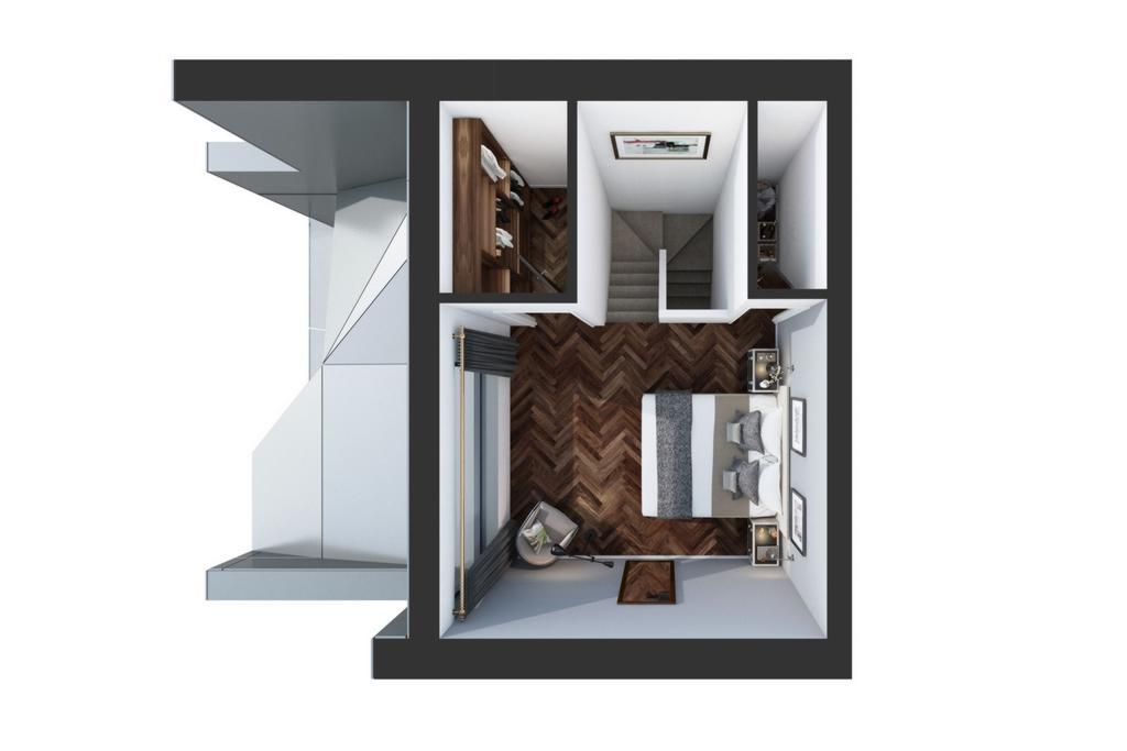 1 Bed Duplex Apartment
