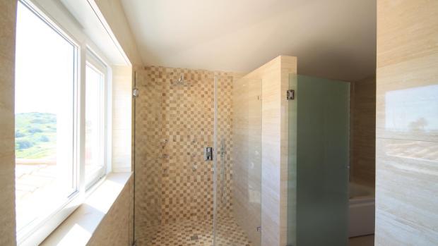 Master bathroom - shower