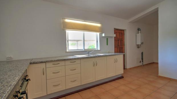 Kitchen and utility space