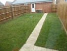 the rear garden