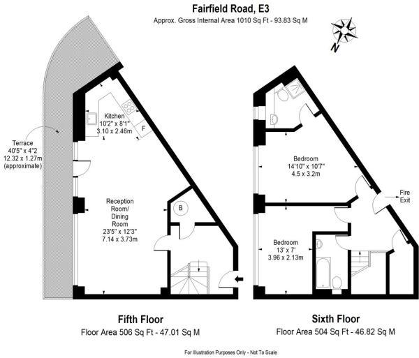 Fairfield Road 3 flo