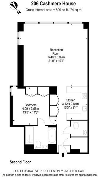 206 Cashmere House c