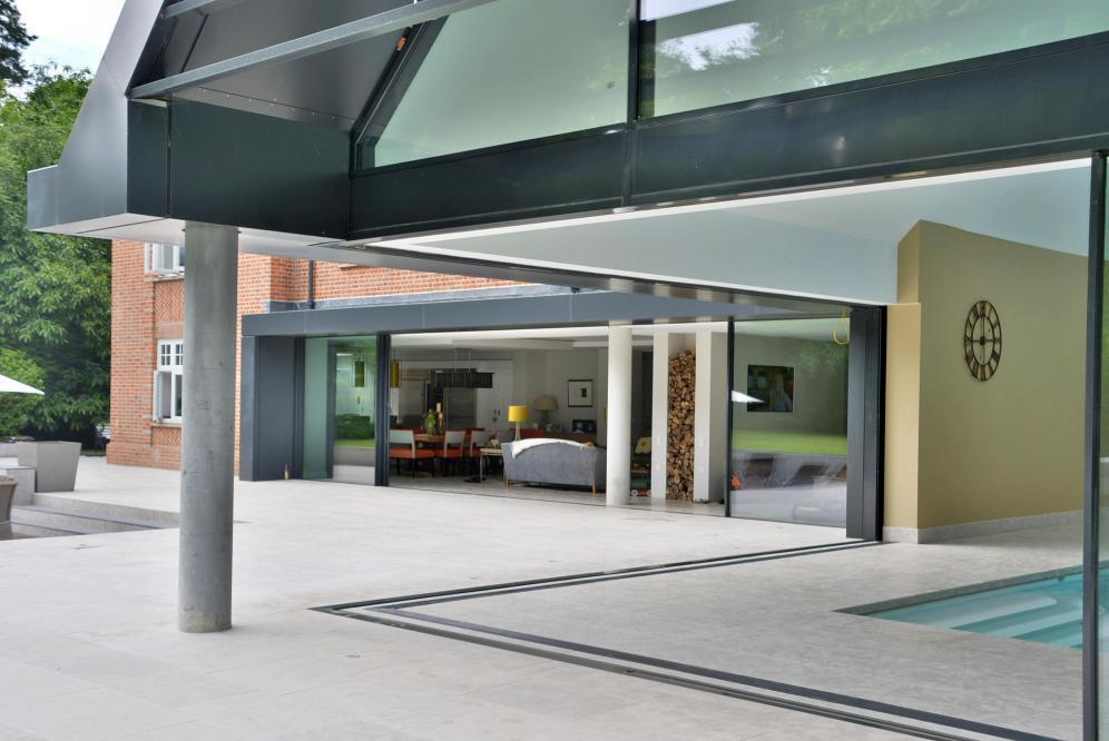 Patio/pool/family room