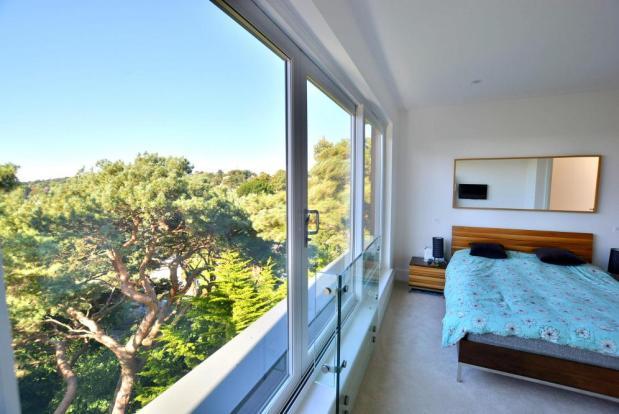 Bedroom & views