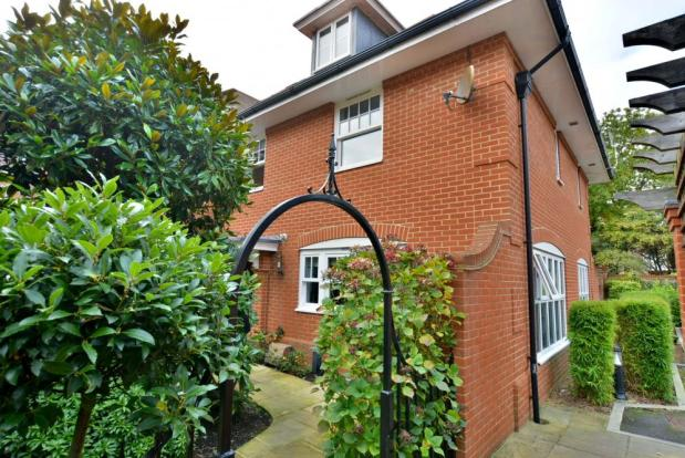 Archway over property gate
