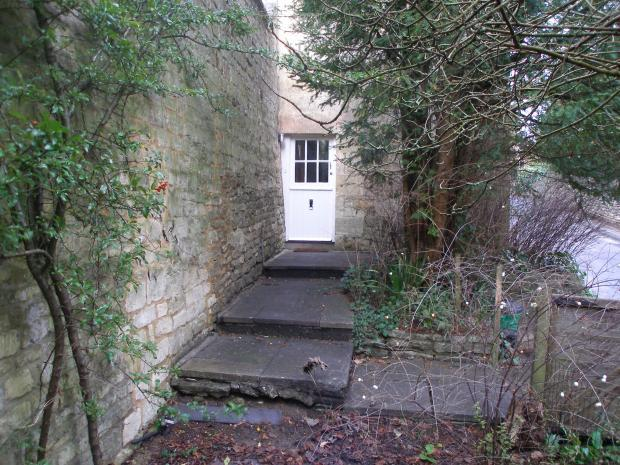 Front Door & Garden