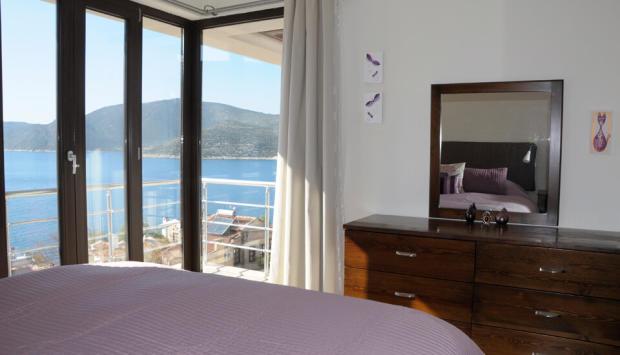 Bedroom Sea Views