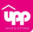 UPP Property Agents, Stamford branch logo