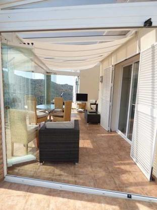 Glazed sun room