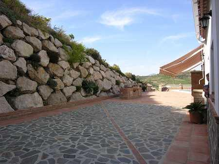 Stunning stone walls