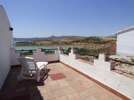 Lake views terrace