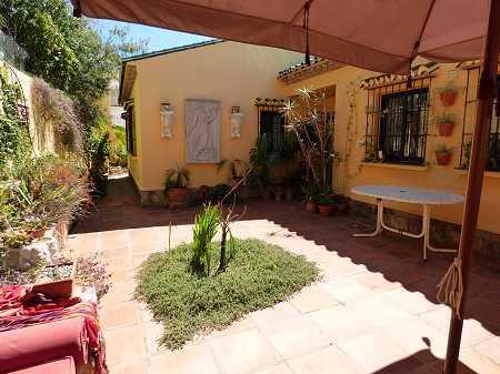 Moorish patio