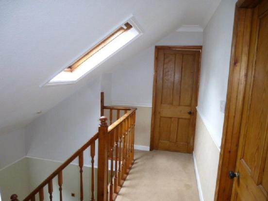 Open Ballustraded Stairs to FIRST FLOOR