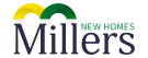 Millers Estate Agents, New Homes logo