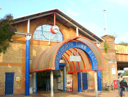 Wandsworth Town Train Station
