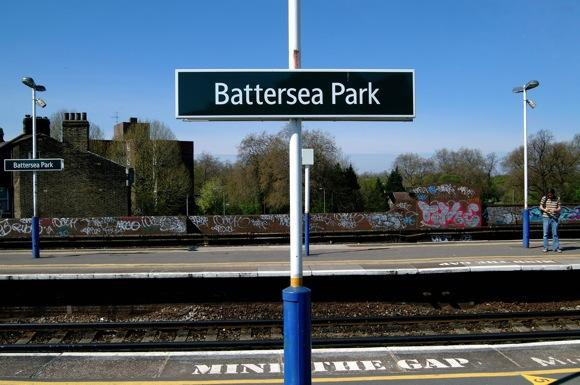 Battersea Park Station at Walking Distance