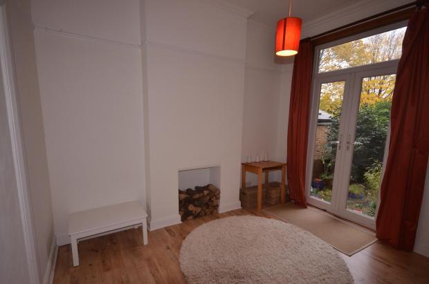 Rear Reception/Bedroom