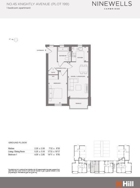 Plot 199 Floorplans