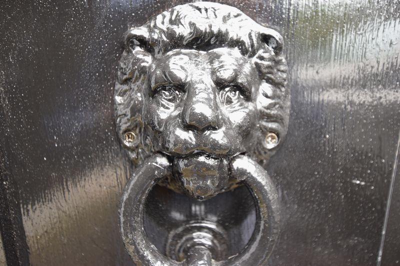 Side door knocker