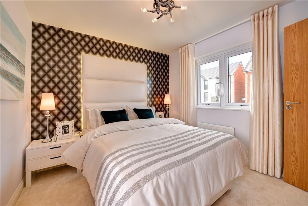 Image shows Flatford show home, Brunton Grange