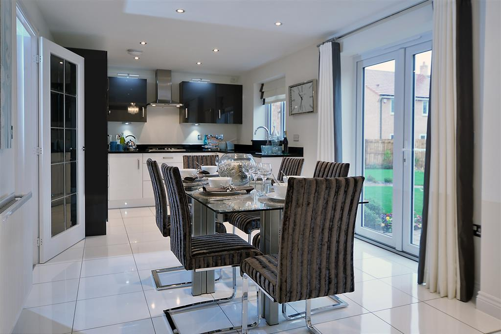 Image shows Downham show home, West Park, West Monkseaton.