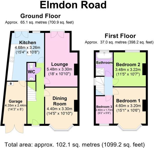 59 Elmdon Rd - Floor