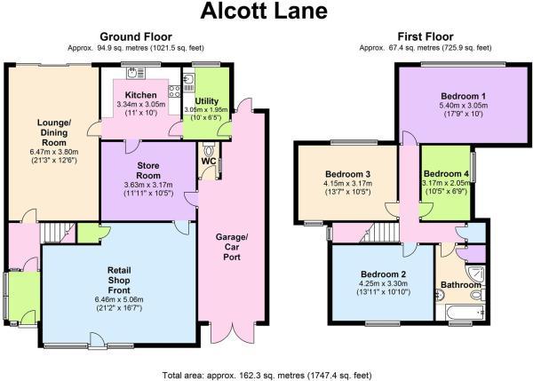 1 Alcott Lane - Floo