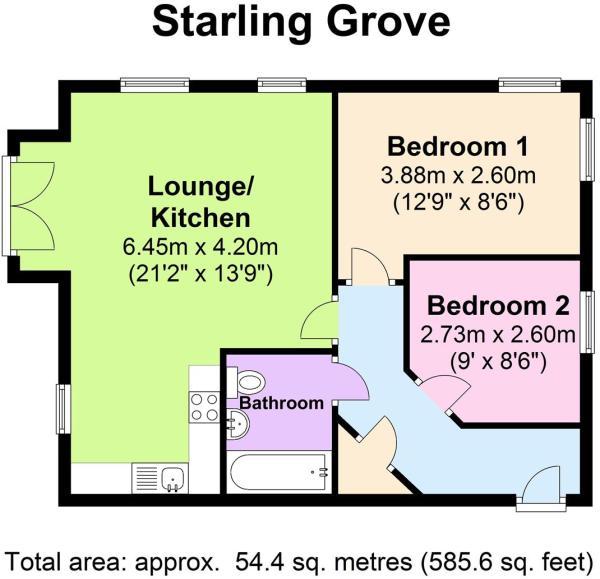 1 Starling Grove - F